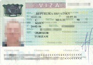 Как оформляется виза в Хорватию для россиян