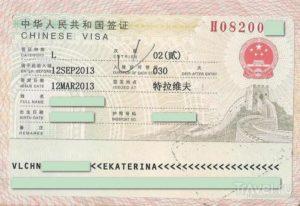 Процедура получения визы