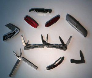 Нож в багаже самолета