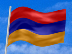 Армения флаг