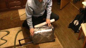 Как надежно упаковать багаж в самолет самостоятельно