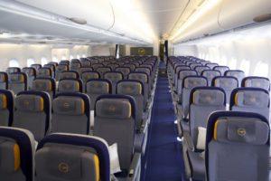 Что означает класс Y в самолете