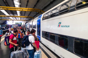 Как лучше всего можно добраться из аэропорта Рима до вокзала Термини