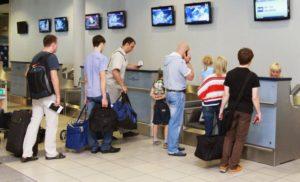 За какое время до вылета заканчивается регистрация на самолет