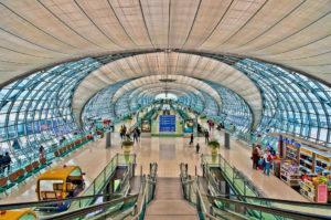 Куда прилетают международные самолеты из России в Таиланд