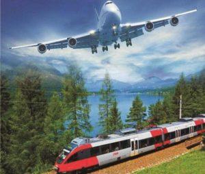 Самолет или поезд считаются более безопасными